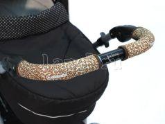 Чехлы Choopie CityGrips на ручки для универсальной коляски длинные(511 Brown Leopard коричневый)