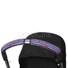 Чехлы Choopie CityGrips на ручки для универсальной коляски длинные(544 French Bows синий)