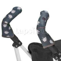 Чехлы Choopie CityGrips на ручки для коляски-трости(527 Black Sheep серый)