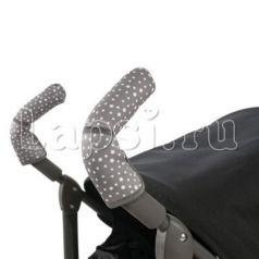 Чехлы Choopie CityGrips на ручки для коляски-трости(636 Andy Dots черный)