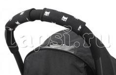 Чехлы Choopie CityGrips на ручки для универсальной коляски(640 Super Hero Masks черный)