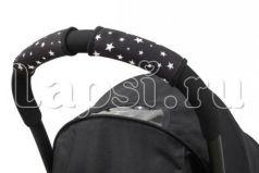 Чехлы Choopie CityGrips на ручки для универсальной коляски(637 Super Hero Stars черный)