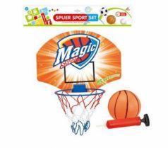 Набор для игры в баскетбол Наша Игрушка Экстрим 4 предмета