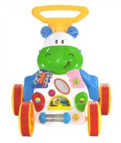 Ходунки-игровой центр Everflo Happy Hippo