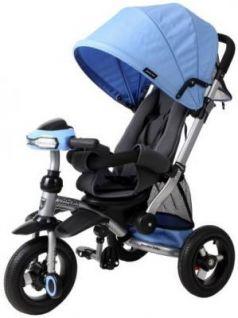 Велосипед Moby Kids Stroller trike 10x10 AIR Car 250 мм синий 641074