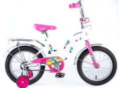 """Велосипед Novatrack TETRIS 14"""" 14"""" белый 141TETRIS.WT8"""