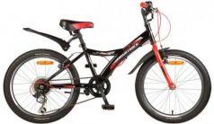 """Велосипед Novatrack RACER 20"""" 20"""" черный 20SH6V.RACER.BK7"""