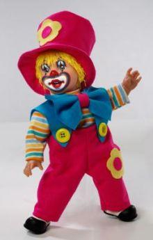 Кукла 1toy Клоун 38 см Т59767