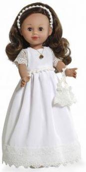 Arias ELEGANCE винил. кукла 42 см., в одежде с аксессуаром, темные волосы, в кор. с окошком 25,5*13,5*47,5 см.