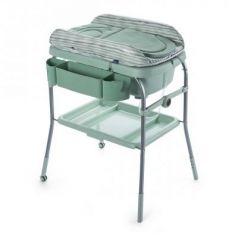 Стол пеленальный с ванночкой Chicco Cuddle & Bubble Comfort (eucalyptus)