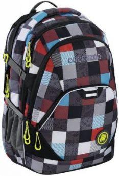 Рюкзак светоотражающие материалы Coocazoo EvverClevver2 Checkmate 30 л синий красный 00129871