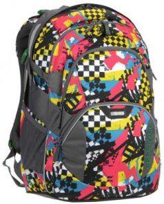Рюкзак светоотражающие материалы Coocazoo JobJobber2 Checkered Bolts 30 л рисунок 00129887