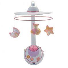 Подвеска-мобиль Chicco Волшебные звезды (розовая)