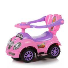 Каталка-машинка Baby Care Cute Car розовый от 1 года пластик
