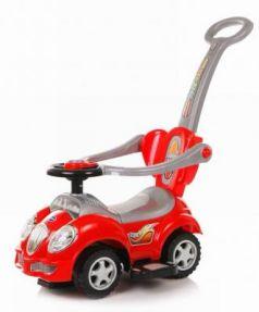 Каталка-машинка Baby Care Cute Car красный от 1 года пластик