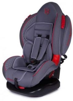 Автокресло Baby Care Polaris Isofix (серый-серый)