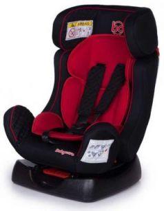 Автокресло Baby Care Nika (черный-красный)