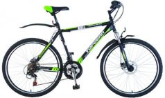 """Велосипед Top Gear Adrenaline 215 18"""" черно-зеленый ВН26353Н"""