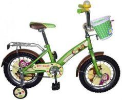 Велосипед Navigator Маша и Медведь зеленый