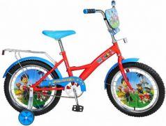 """Велосипед Navigator Щенячий патруль 18"""" голубой-красный ВН18082Н"""