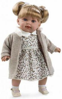Кукла Arias Elegance в бежевой кофте 42 см Т11129