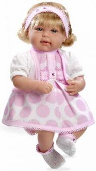 Кукла Arias Elegance в розовом платье 45 см Т11133