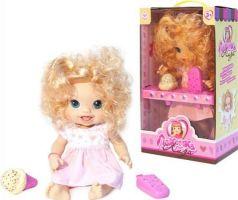 Лакомка Лиза - Кудрявая блондинка