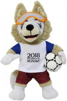 "Мягкая игрушка волк FIFA ""ФИФА 2018: Забивака"" плюш 28 см"