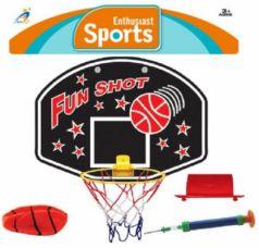 Набор для игры в баскетбол Наша Игрушка Бросок 4 предмета