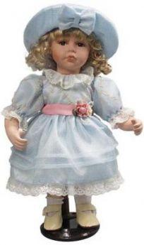 """Кукла фарфор 12"""" """"Капелька"""""""