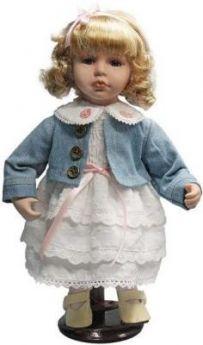 """Кукла фарфор 12"""" """"Бирюсинка"""""""