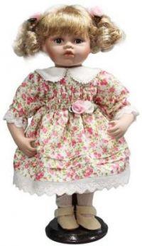 """Кукла фарфор 12"""" """"Цветочек"""""""