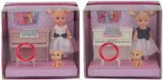 Кукла Defa Lucy 15 см Урок музыки, аксесс.9 предм.