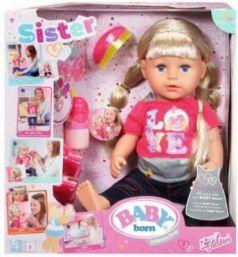 Кукла BABY born Сестричка, 43 см, кор.