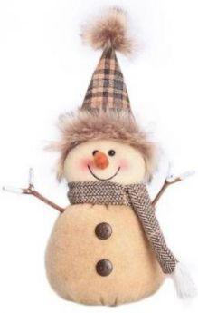 Снеговик-весельчак
