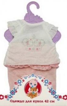 Одежда для куклы 38-43см, футболка и штанишки.