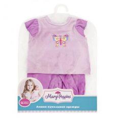 "Одежда для кукол Mary Poppins ""Бабочка"", кофточка и брючки"