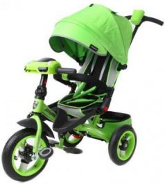 Велосипед Moby Kids Leader 360° 12x10 AIR Car 12*/10* зеленый 641070