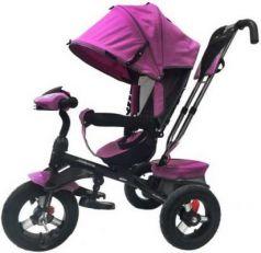 Велосипед Moby Kids Comfort 360° 12x10 AIR 12*/10* фиолетовый 641069