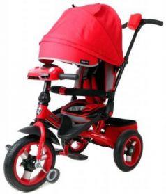 Велосипед Moby Kids Leader 360° 12x10 AIR Car 12*/10* красный 641071