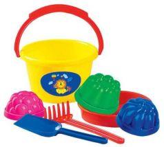 Игрушка для песка Полесье Набор для песка 11 7 предметов