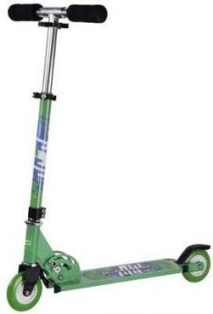 Самокат X-Match City Line 100 мм зеленый 641093