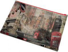 Папка на молнии полноцветная А4, 120 листов, материал PP, ЛОНДОН