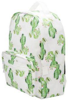 Рюкзак ACTION Кактусы, городской, размер 40х28х14 см, с принтом, мягкая уплотненная спинка, д/девоче