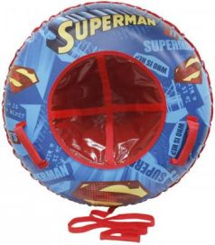 """Тюбинг 1toy """"Супермен"""" разноцветный ПВХ"""