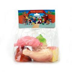 Набор игрушек для ванны Пфк игрушки Вкусные продукты