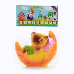 Резиновая игрушка Пфк игрушки Мишка на Луне 11 см