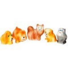Набор игрушек для ванны Пфк игрушки Собачки