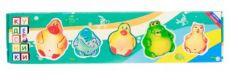 Набор игрушек для ванны Пфк игрушки Брызгалки 5 см