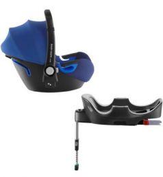 Автокресло Britax Romer Baby-Safe i-Size + база Flex (ocean blue)